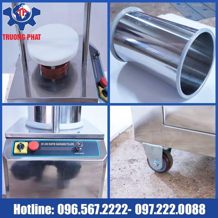 chi tiết máy đùn xúc xích thủy lực