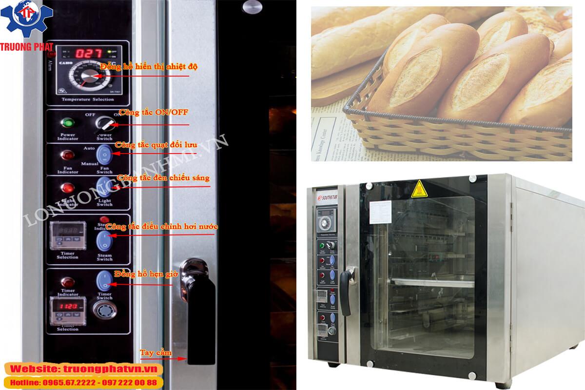 Hình ảnh lò nướng bánh mì xoay