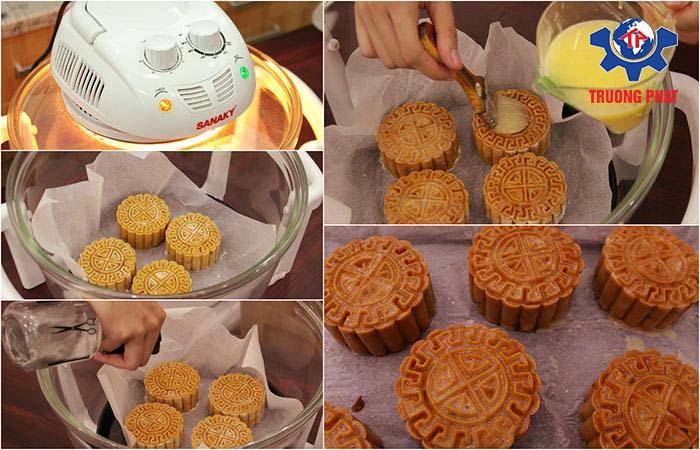 Cách làm bánh trung thu nướng 2