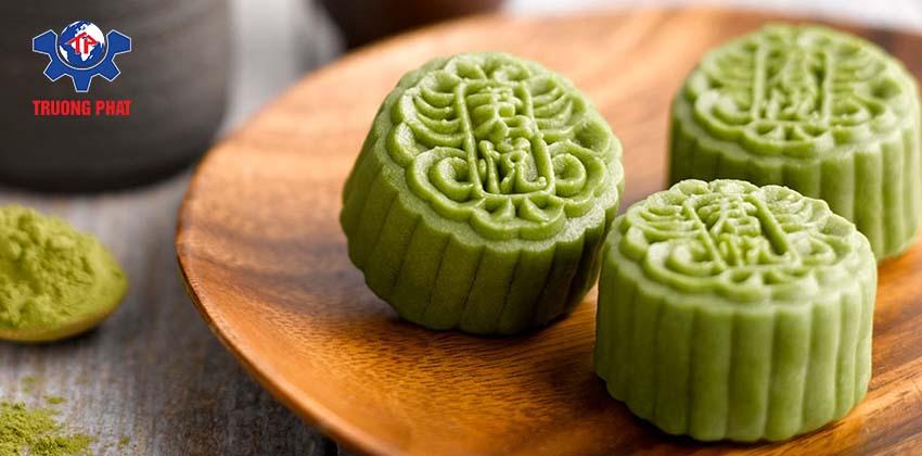 Cách làm bánh trung thu nướng vị trà xanh