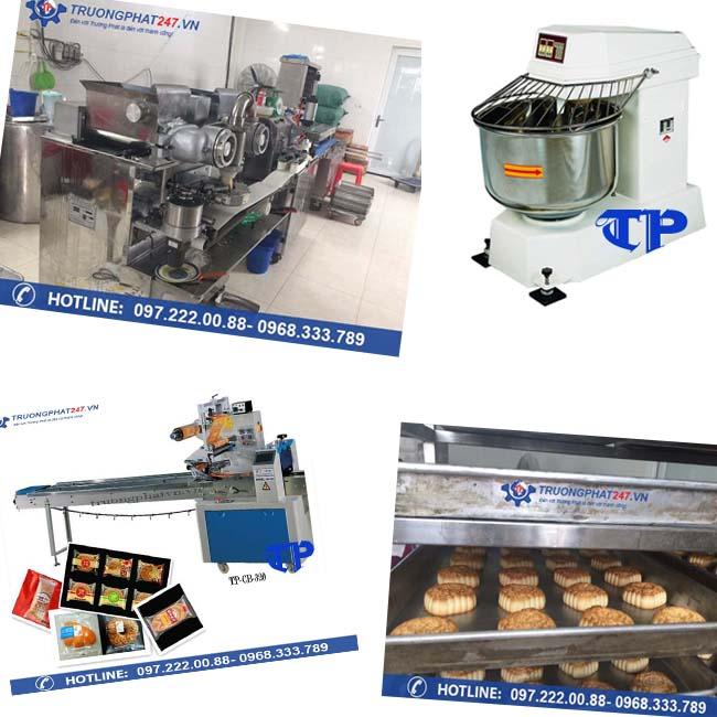 máy làm bánh trung thu Trường Phát