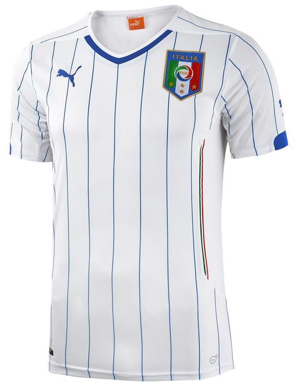 Quần áo bóng đá Ý trắng sân khách WC 2014