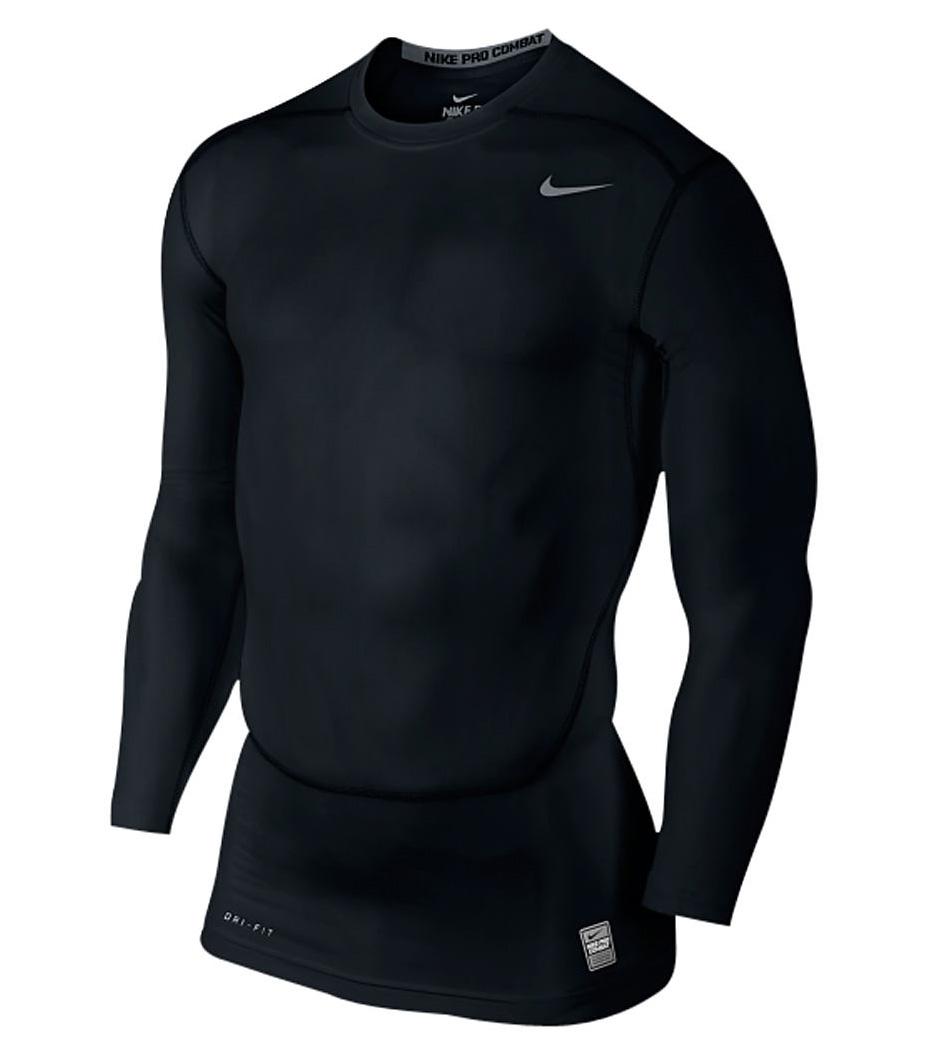 Áo lót dài tay Body giữ nhiệt Nike màu Đen