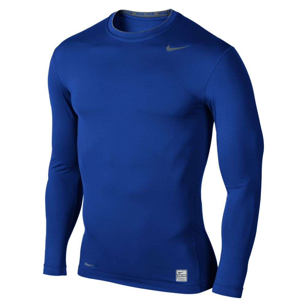 Áo lót dài tay Body giữ nhiệt Nike màu Xanh cô ban