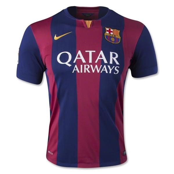 Quần áo bóng đá Barca sân nhà mùa giải 2014/15