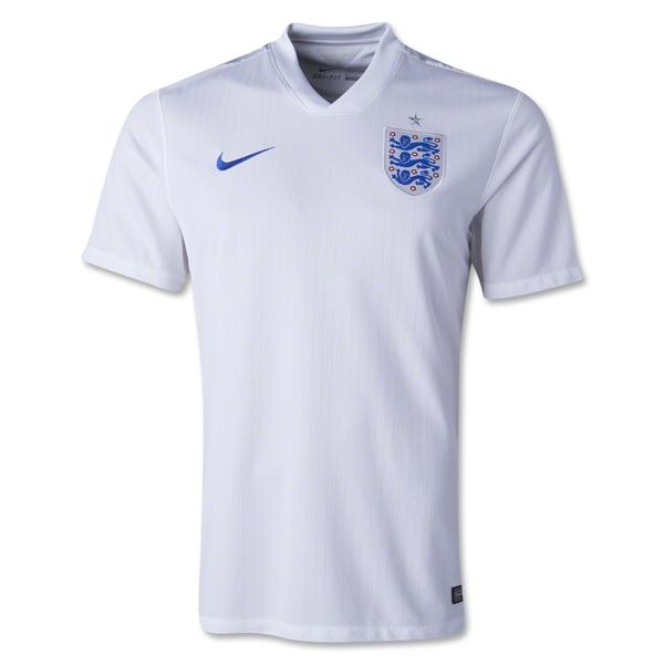 Quần áo bóng đá Anh trắng sân nhà WC 2014