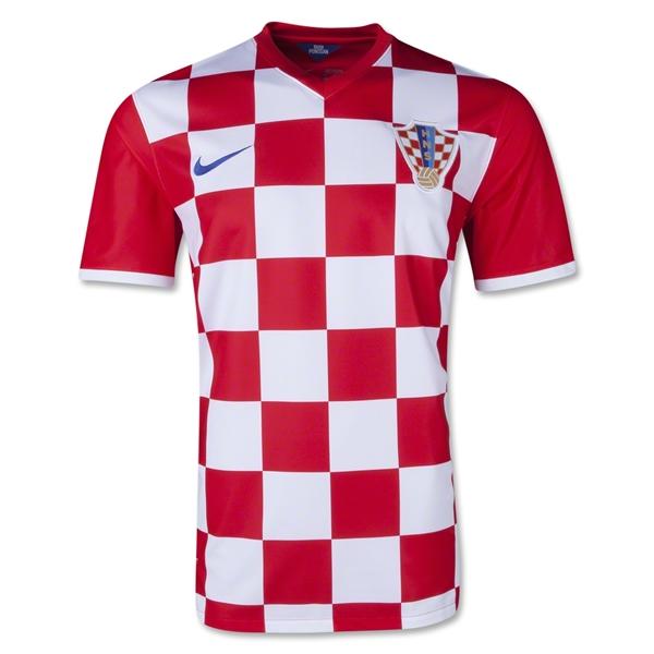 Quần áo bóng đá Croatia sân nhà WC 2014