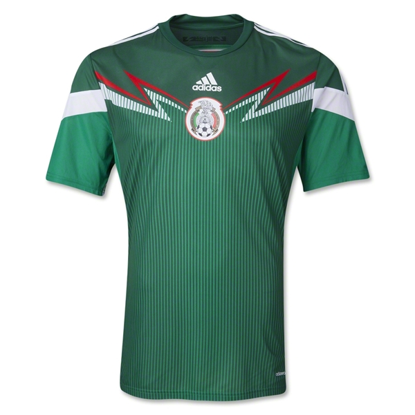Quần áo bóng đá Mexico sân nhà WC 2014