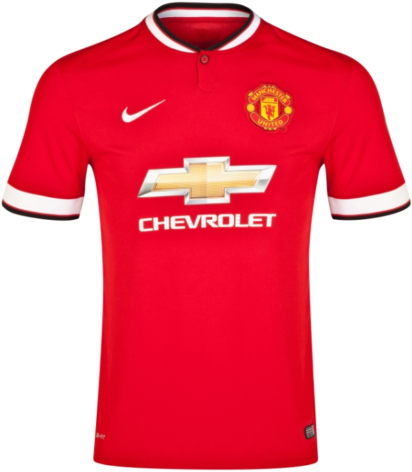 Quần áo bóng đá Manchester United sân nhà đỏ 2014/15