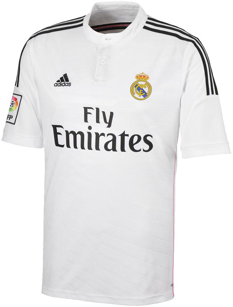 Quần áo bóng đá Real Madrid trắng mùa giải 2014/15