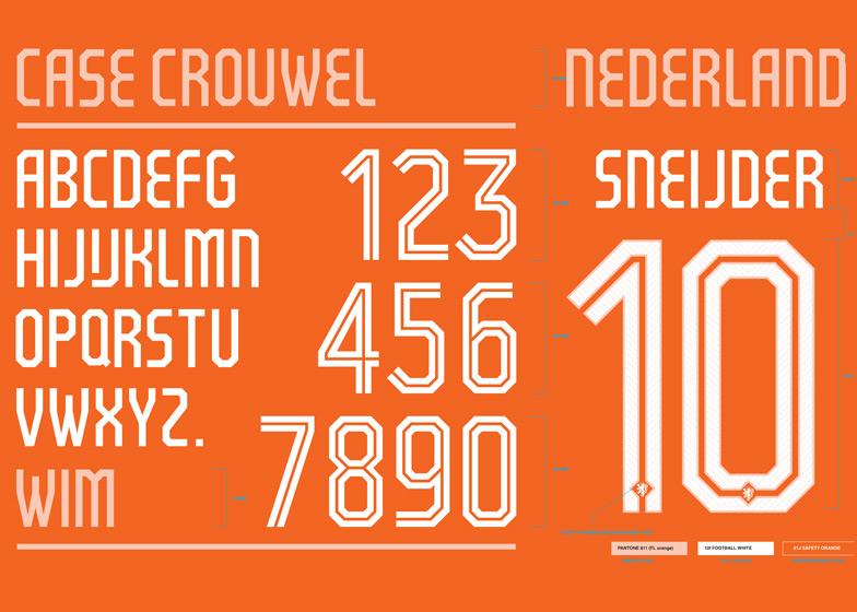 Mẫu in của đội tuyển Hà Lan 2014