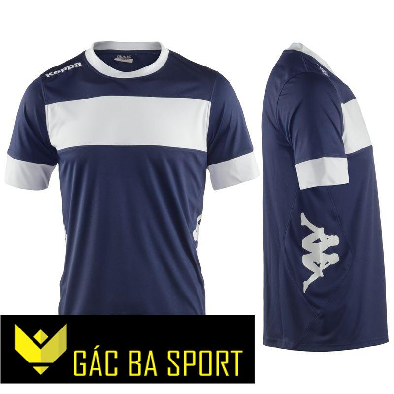 áo bóng đá không logo kappa tím than