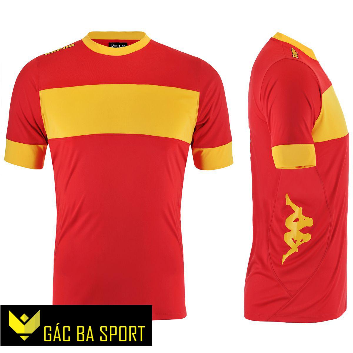 áo bóng đá không logo kappa đỏ