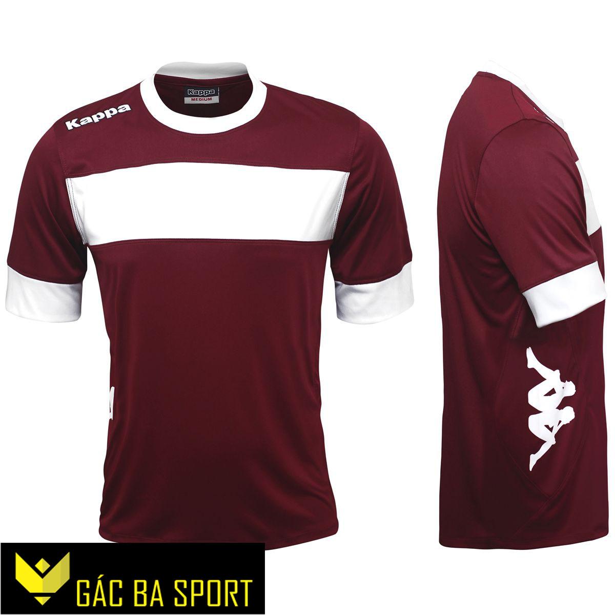 áo bóng đá không logo kappa mận