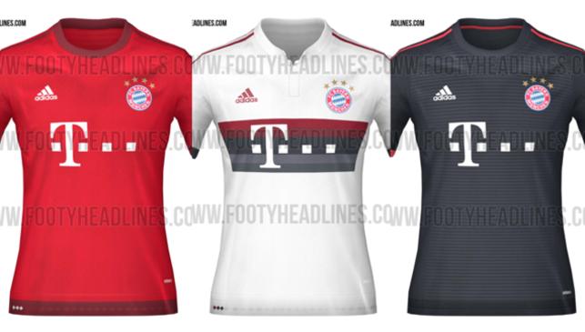 áo bóng đá bayern 2016