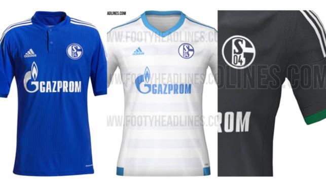 áo bóng đá Schalke 04 2016