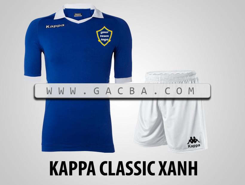 áo bóng đá Kappa Classic xanh