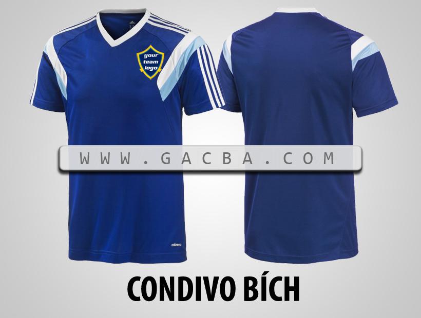 áo bóng đá không logo Condivo bích
