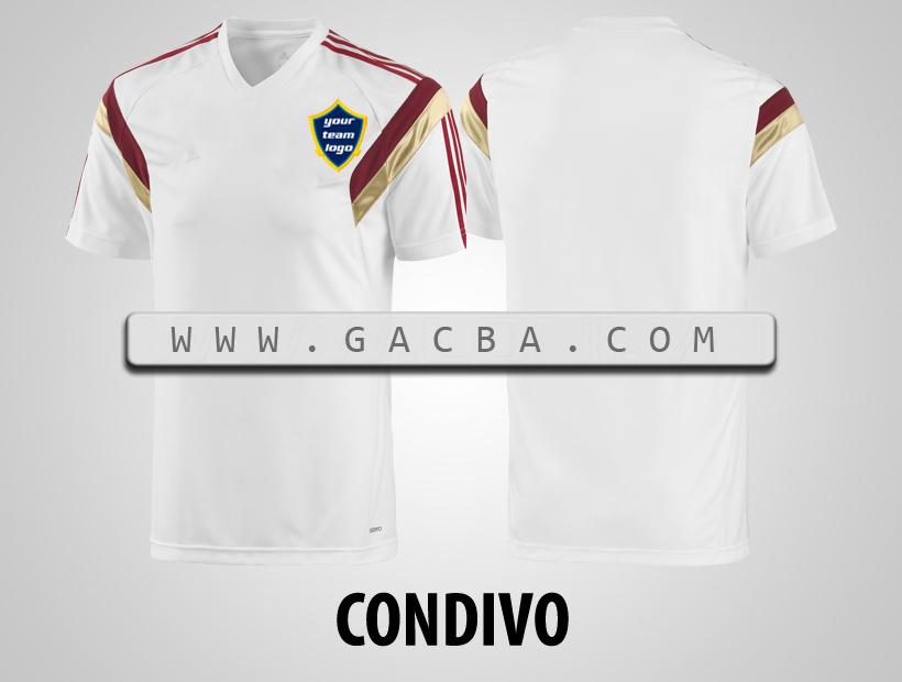 áo bóng đá không logo Condivo