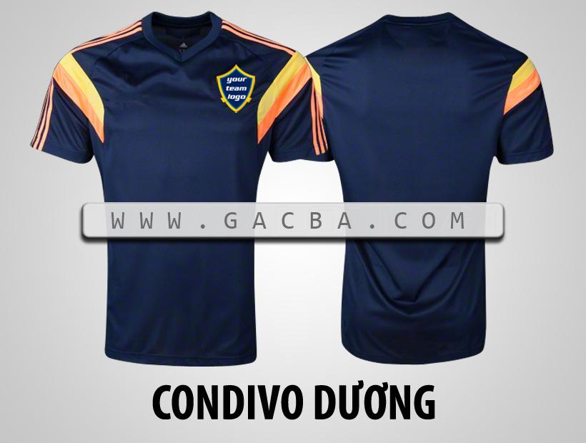 áo bóng đá không logo Condivo dương