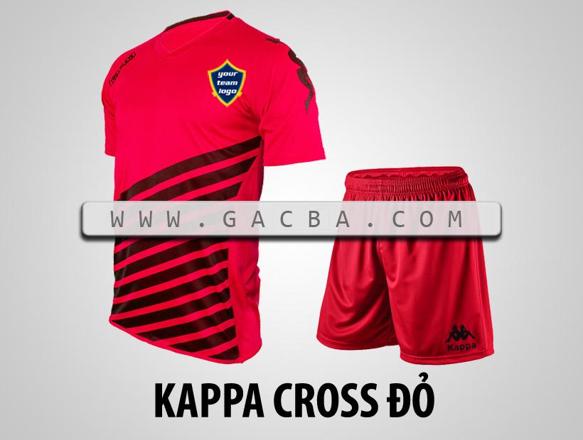 áo bóng đá Kappa Cross đỏ