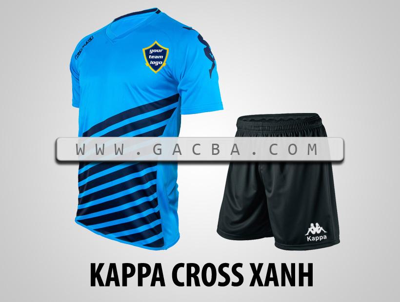áo bóng đá Kappa Cross xanh Mã sản phẩm: KOLOGO08 Giá bán 170.000 ₫ Số lượng đã bán 0  Đánh giá Phí vận chuyển Tính phí khi thanh toán Số lượng:  MUA HÀNG