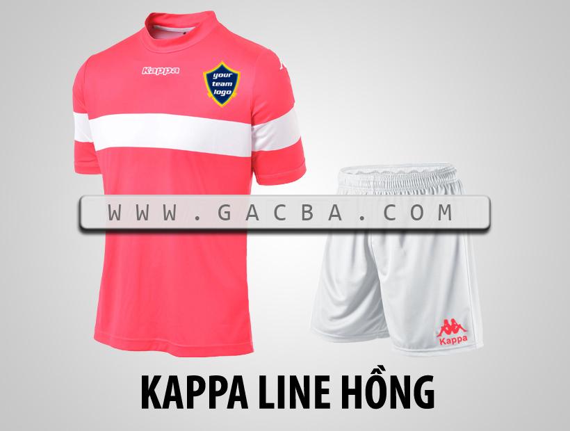áo bóng đá Kappa Line hồng