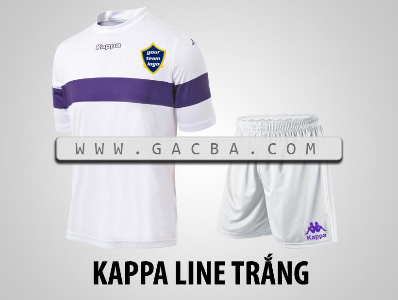áo bóng đá Kappa Line trắng