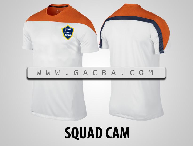 áo bóng đá không logo Squad cam