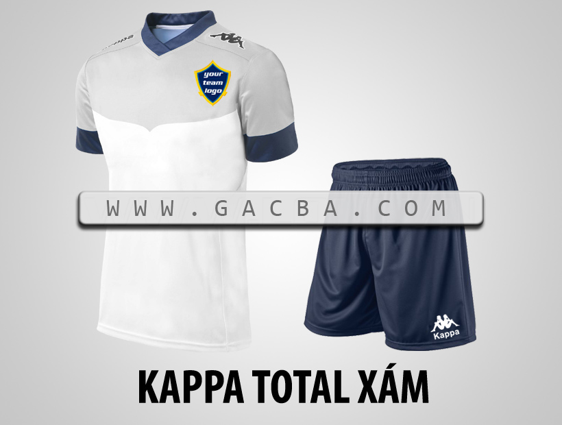 áo bóng đá Kappa Total xám