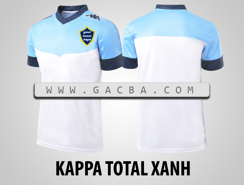 áo bóng đá Kappa Total xanh