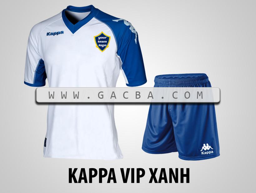 áo bóng đá Kappa VIP xanh