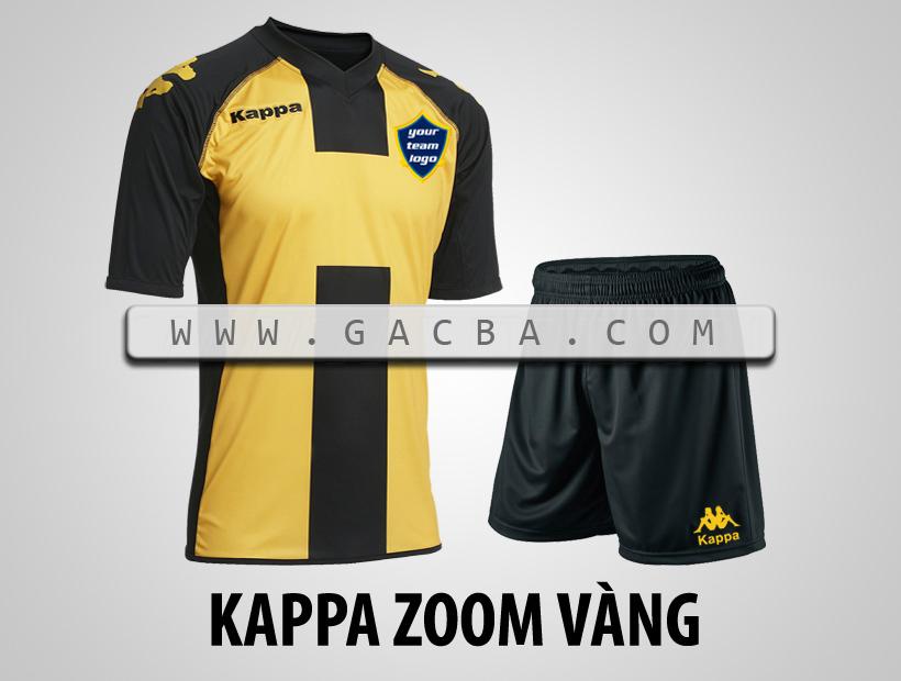 áo bóng đá Kappa Zoom vàng
