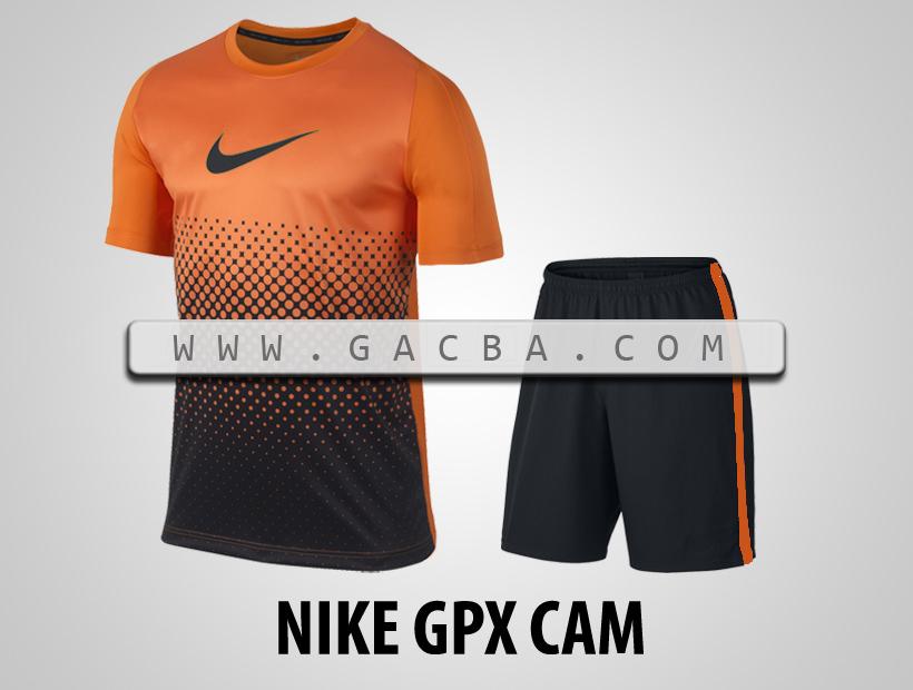 Áo bóng đá không logo Nike GPX cam