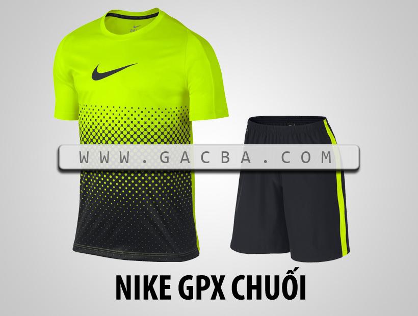 Áo bóng đá không logo Nike GPX chuối