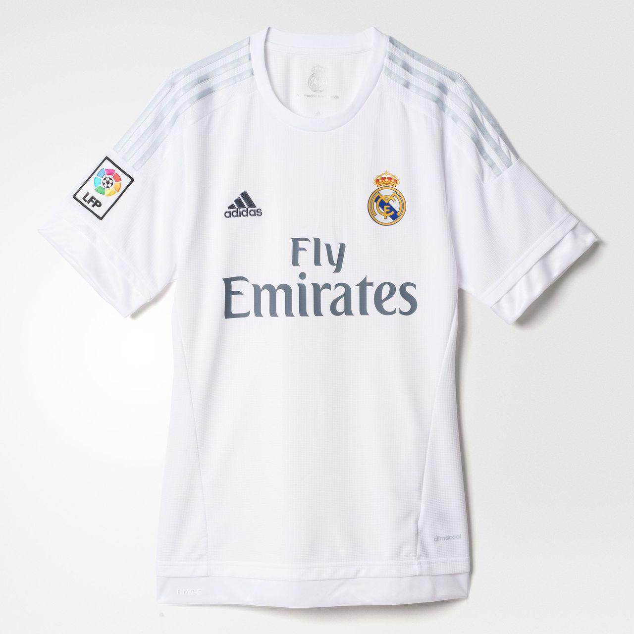 áo bóng đá Real trắng mùa giải 2015 2016