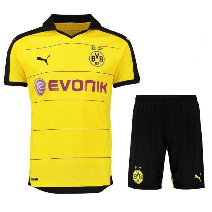 áo bóng đá dortmund vàng sân nhà 2015 2016