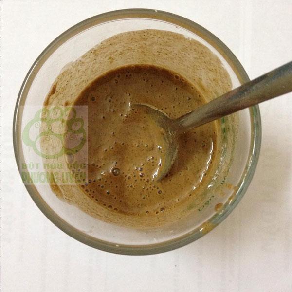 cách pha bột ngũ cốc 2