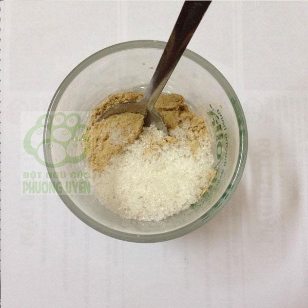 cách pha bột ngũ cốc 1
