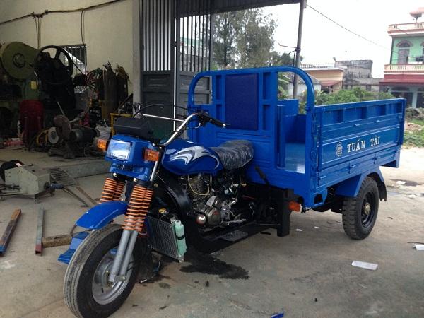 lắp ráp xe lôi chở hàng đúng kĩ thuật