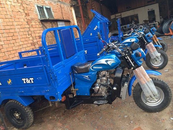 Xe lôi ba bánh chở hàng chất lượng với giá tốt nhất