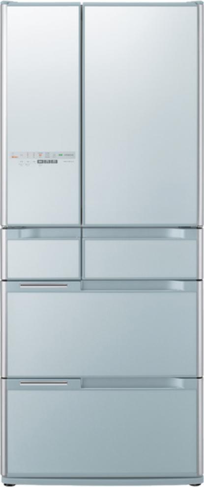 Tủ lạnh Hitachi cao cấp 6 cửa 644 lít R-C6200S