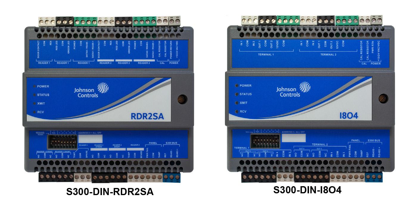 S300-DIN-RDR2SA & S300-DIN-I8O4