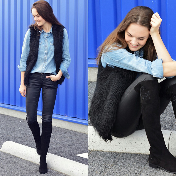 giầy boots cao cổ