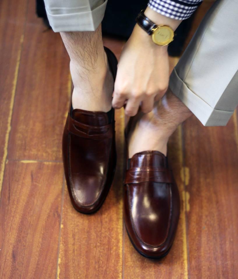 chọn giày nam đẹp
