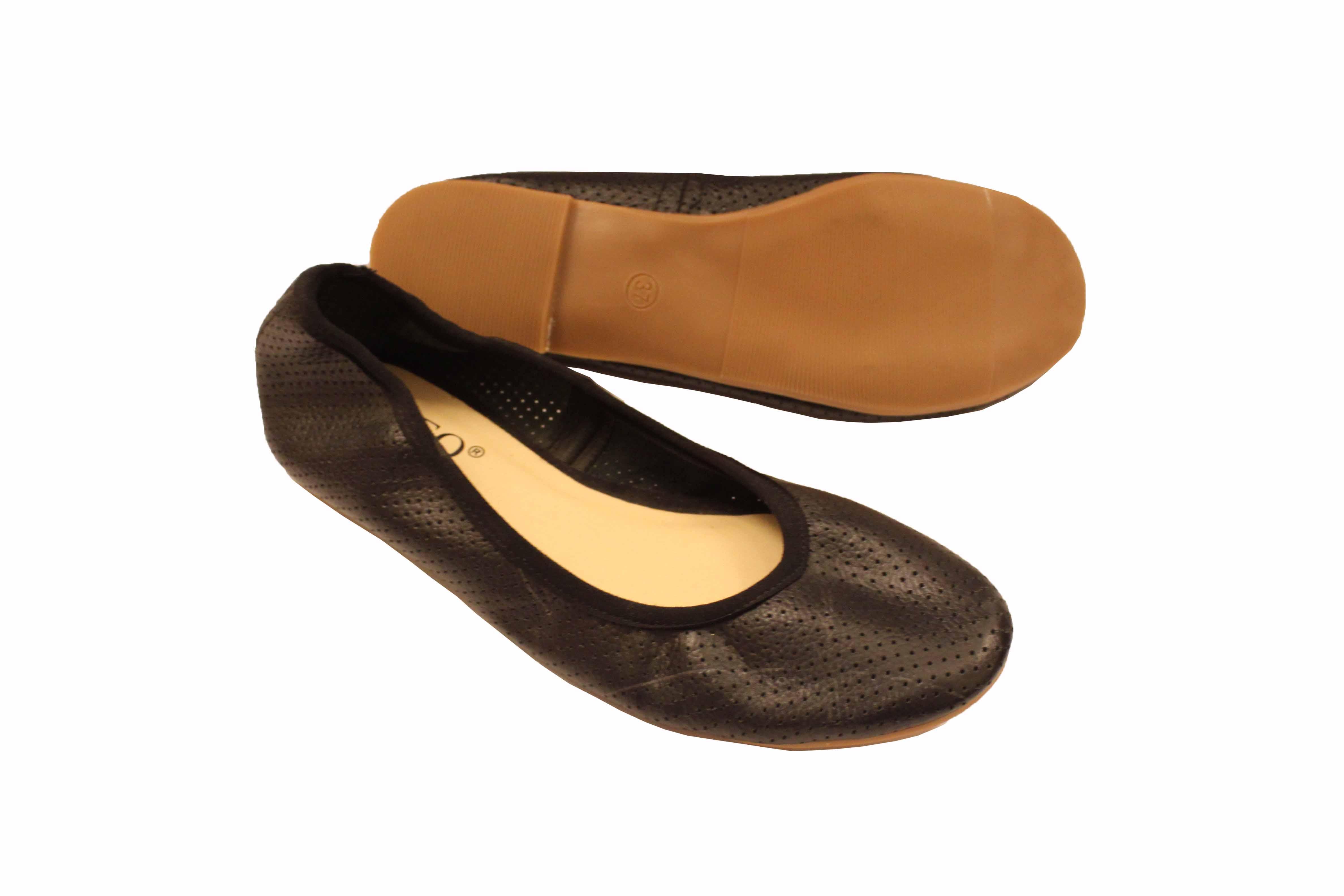 giày búp bê da mềm