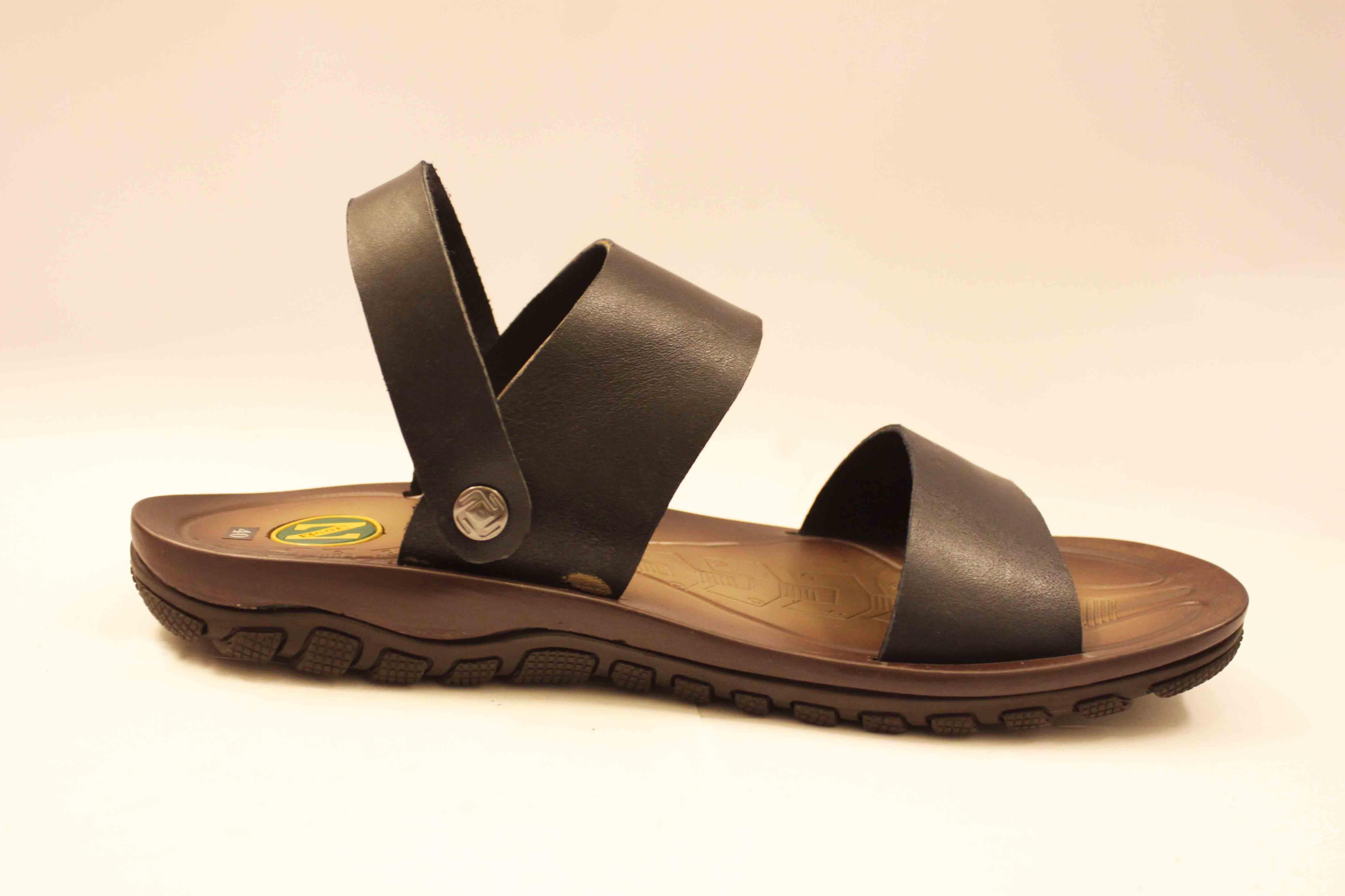 sandal nam quai ngang