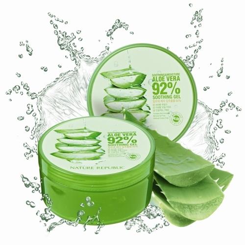 Gel lô hội Nature Republic - một sản phẩm cấp nước chuyên dụng thích hợp với mọi loại da