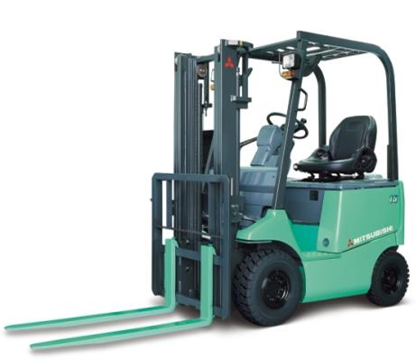 Xe nâng Mitsubishi 2.5 tấn cao 3m có chức năng chui container với bộ số tự động thuận tiện cho người sử dụng, xe nâng động cơ mơi 100%