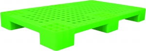 Pallet nhựa 1 mặt 6 chân PL04LS 1000x600x100mm tại hồ chí minh